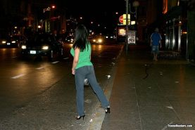 Latina tranny hooker picked up off the streets Buenos Aires