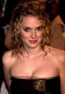 Amazing celebrity actress Winona Ryder looking very hot