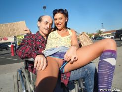 Ivy Winters getting bangend hard by an older guy