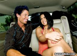 Guy totally scores on a date with pornstar Eva Angelina