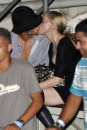 Madonna make love with her boyfriend and showing fantastic legs