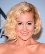 Kellie Pickler braless wearing hot black tube dress at 47th Annual CMA Awards in