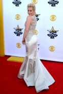 Kellie Pickler showing huge cleavage at the 50th Academy Of Country Music Awards