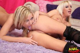 Busty milf and small tits cute blonde having anal orgy sex #69176421