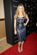 Jewel Kilcher showing huge cleavage for the 11th annual Tree Lighting Ceremony a