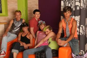 Teen gay parties have never been as hot as this one