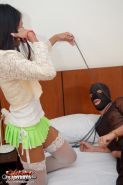 Asian Tranny Butt Fucked by Her Sex Slave