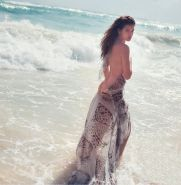 Barbara Palvin fully naked for Marie Claire Italia
