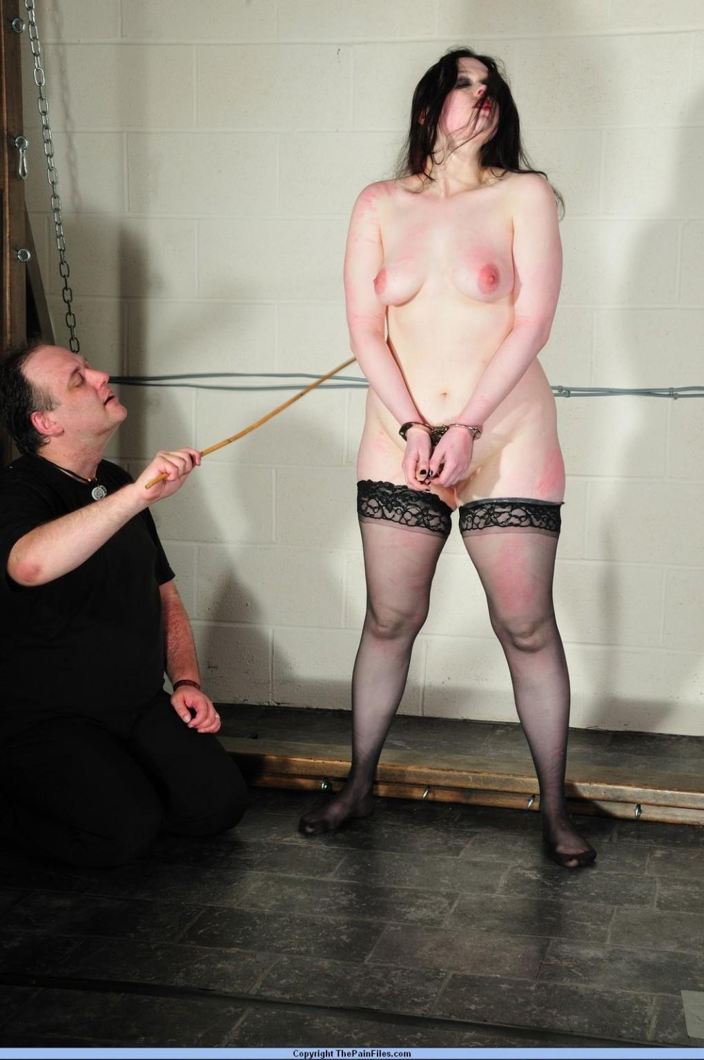 Crying slavegirl Emmas extreme caning and screaming spanking amateur bdsm punish #72140893
