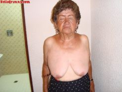 Old pussy granny with big panties #67215400