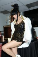 Bai Ling upskirt at the Indonesian Coffee Heritage Coffee Cupping Movie Screenin