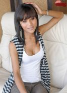 Petite And Pretty Eyed Asian Ladyboy Gets Her Cock Stiff