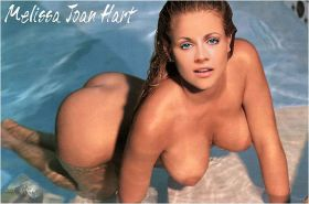 Melissa Joan Hart showing her pussy and tits and fucking hard