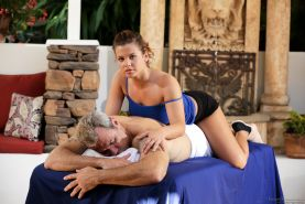 Keisha Grey and Steven St Croix The Masseuse