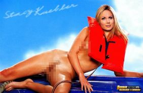 Fake pictures of fully naked celeb Stacy Keibler