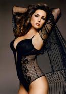 Kelly Brook showing off her curvy body for her Official 2015 Calendar