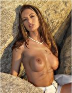 Crissy Moran on the rocks
