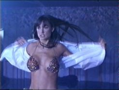 Celebrity Demi Moore exposing her perfect body