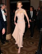 Nicole Kidman showing huge cleavage at the Celebrate Life Ball in Melbourne