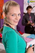 Teen Alli Rae fucked in shop by her boss