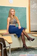 Nicole Aniston Fucked In The Classroom