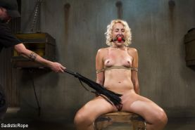 Uncut nonstop action with brutal bondage and squirting orgasms