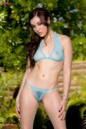 On a hot day Sasha Grey just gets hotter