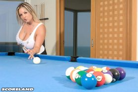 Lets Play Some Pool With Big Tits Milf Rachel Love