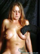 Busty milf Ginas brutal bdsm and extreme fetish needle torture of pussy lips and