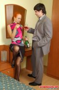 Florence and Adam sissy loser straponfucked