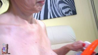 Granny with hairy pussy #67976085