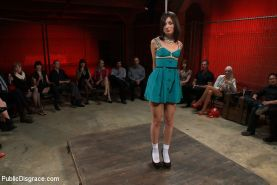 Amateur Model Kristine Kahill Disgraced at the Armory!