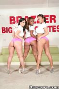 Brazzers big butt contest and wild anal orgy