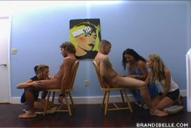 Brandi Belle and amateur teens blowjob sex competition #78571127