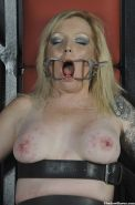 Painsluts erotic torture and extreme depraved nipple punishments of blonde amate