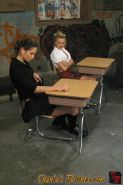 School bully Amber Rayne fists and facesits victim Lexi Belle
