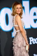 Diane Kruger showing cleavage at the PEOPLE Magazine Germany launch party in Ber