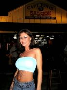 Crissy Moran public flashing in Key West