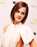 Emma Watson leggy  braless showing side boob at 'The Perks Of Being A Wallflower