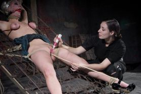 Cherry Torn loves 3 things. tight bondage, intense pain, and a sensual woman wh