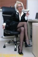 Sexy Secretary Lana Playing With Her Pussy In the Office