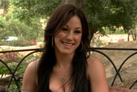 Jennifer White plays a naughty game and looses a five guy gang bang is the conse
