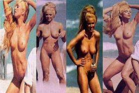 pop milf Madonna in several early nude shots