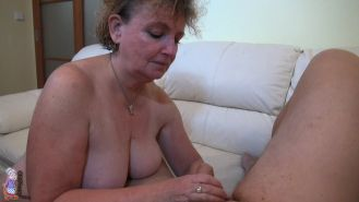 lesbian licking and dildo toying