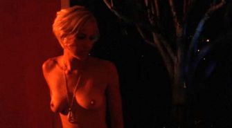 Brittany Daniel showing her big tits and ass in nude movie caps