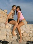 Terri Summers and Elly tour Ibiza