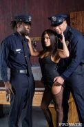 Michelle gets worked over by a couple of corrupted black cops