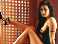 Lucy Liu getting boned