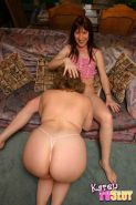 Tranny with a big girl #79110542