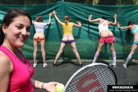 Sticking tennis balls into sorority girls asses is nice way of h